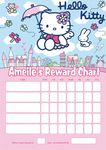 Personalised Hello Kitty Reward Chart (adding photo option available)